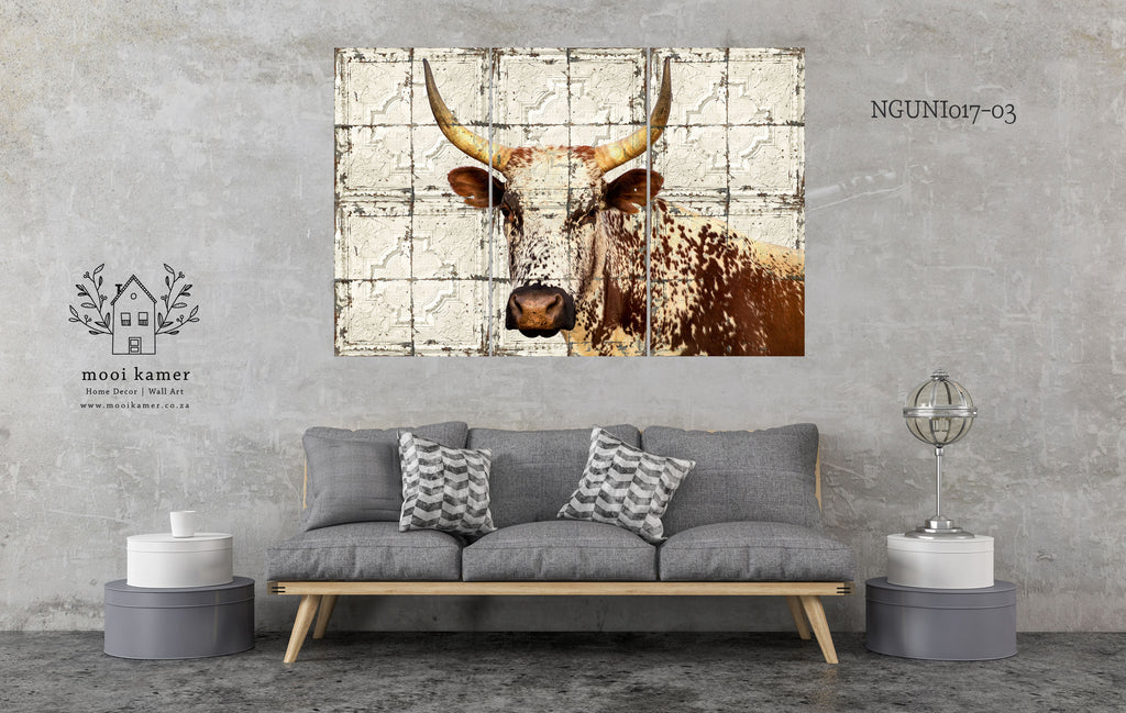 3 Set | Nguni | Vintage Tile