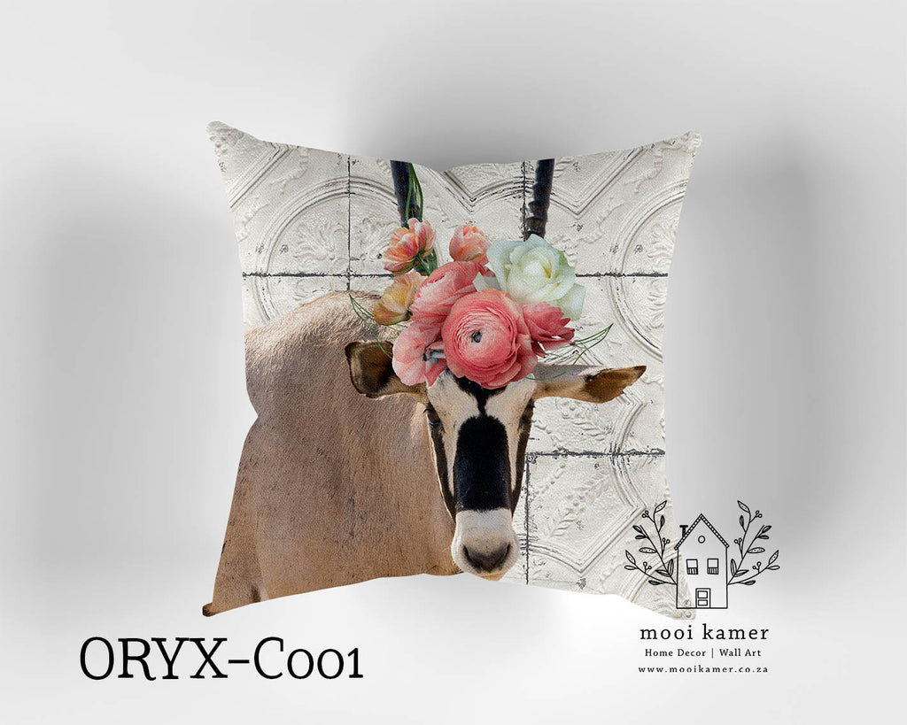 Cushion | ORYX | Premium Mock Linen | Inner not Included