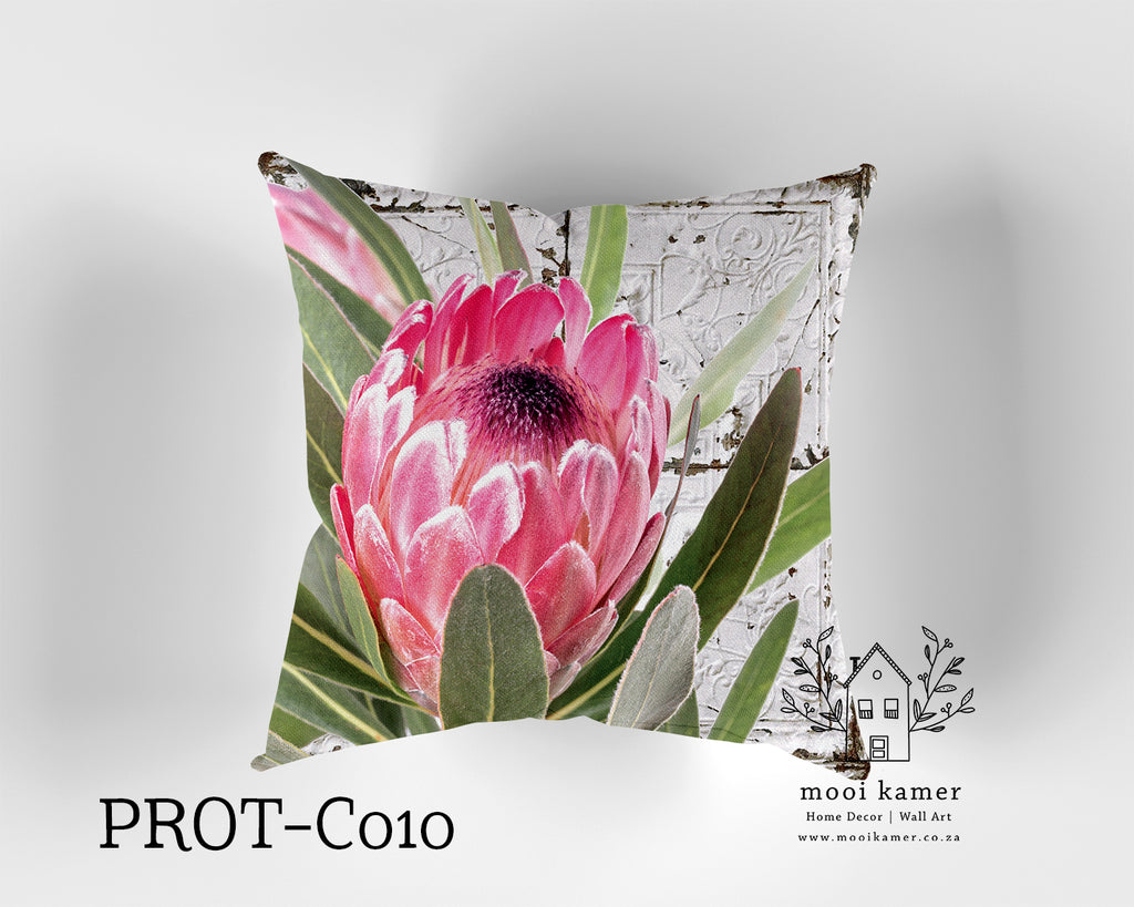 Cushion | PROTEA | Premium Mock Linen | Inner not Included