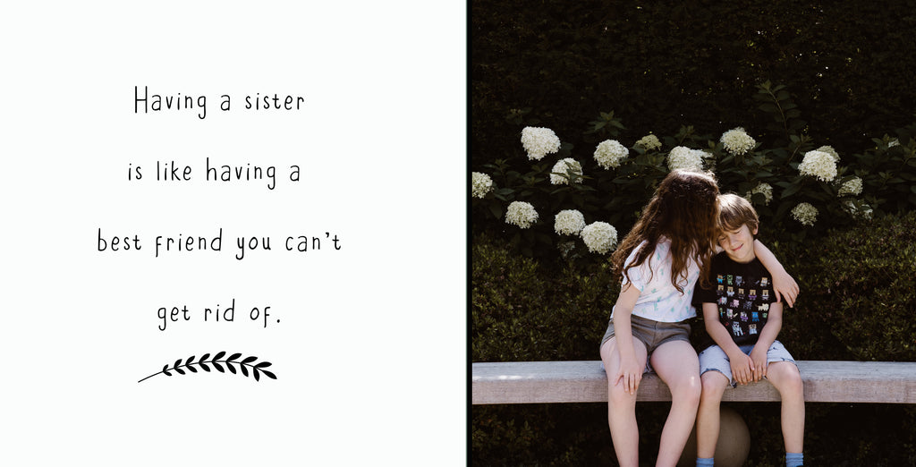 Sister | 400x200 | Word & Photo Block