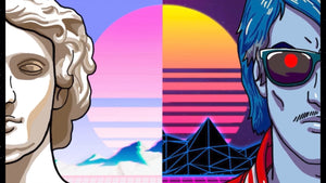 What's the Difference Between Vaporwave and Synthwave ( Outrun )