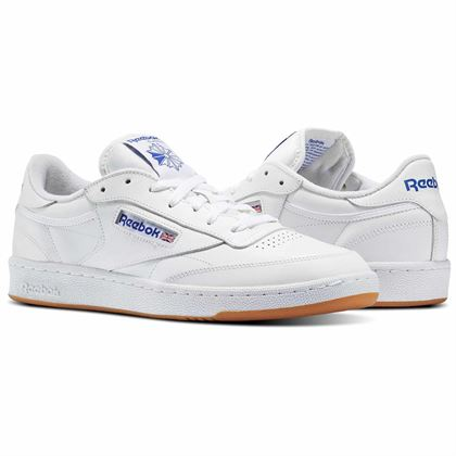 Streetwear Reebok Club C White Oldschool Sport Shoes