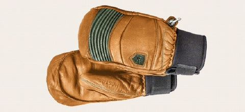 Hestrea Leather Fall Line Mitts