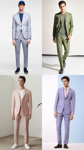 Soft Suiting Comes in Sorbet Shades