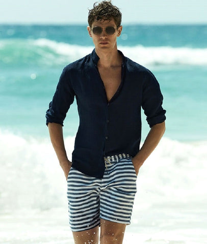 The White Stripes Summer wear Swimwear Man