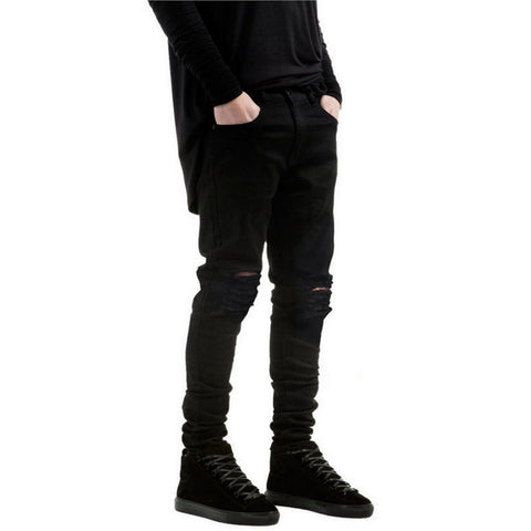 Streetwear Black Denim