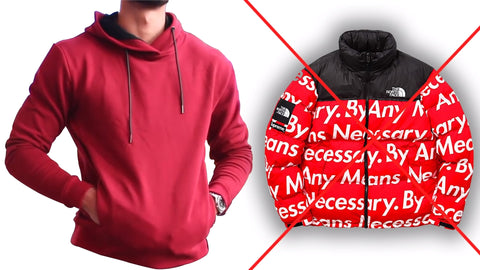 Streetwear Hoodies 2019 How to wear Red hoodie