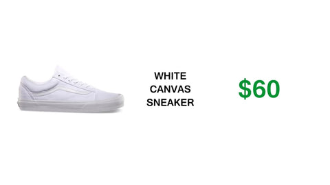 Canvas shoes cheap
