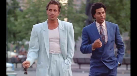 Miami Vice Fashion impact in the 80s