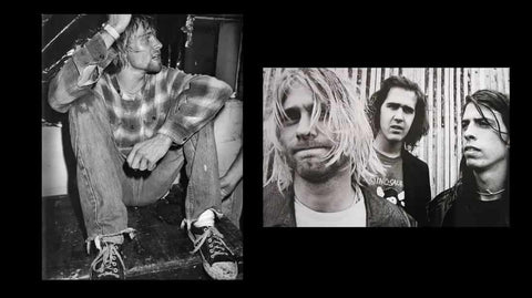 Kurt cobain impact on fashion 90s
