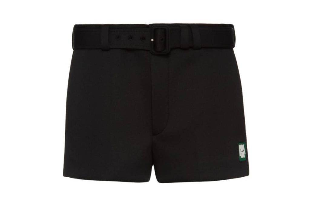 Streetwear 2019 men fashion Technical Jersey Shorts by Prada