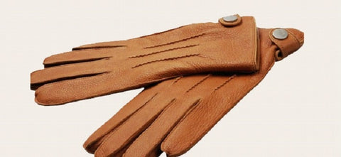 Elma Deerskin Leather Driving Gloves