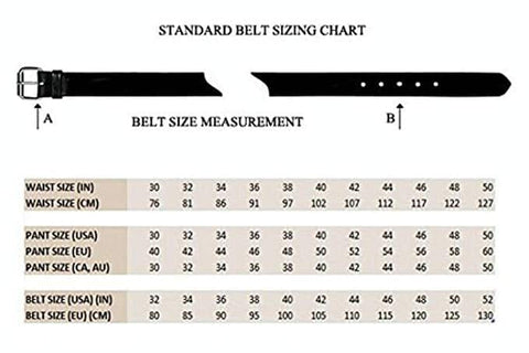 Buy The Proper Size belt