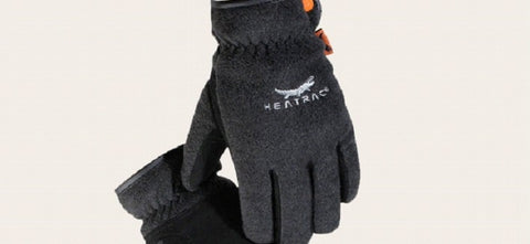Heatrac Suede Deerskin Fleece Thermal Gloves