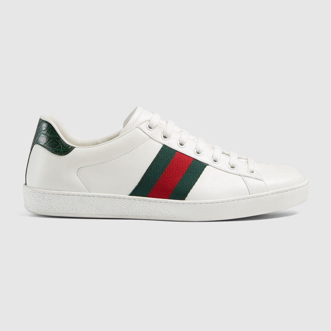 Streetwear Gucci Ace Sport Shoes Sneakers White