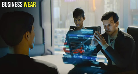 Business wear Cyber Fashion - Cyberpunk 2077