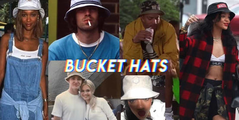 Bucket Hats 90s Fashion Trends