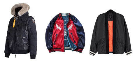 Color of the bomber jackets