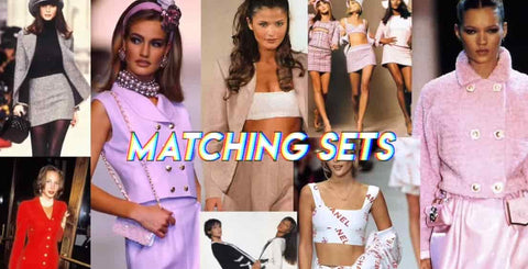 Matching Sets 90s Fashion Trends