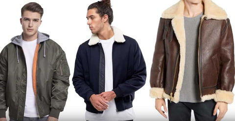Tailored style bomber jackets