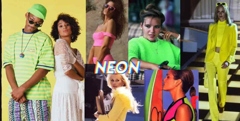Neon Wearing Clothes 90s Fashion Trends