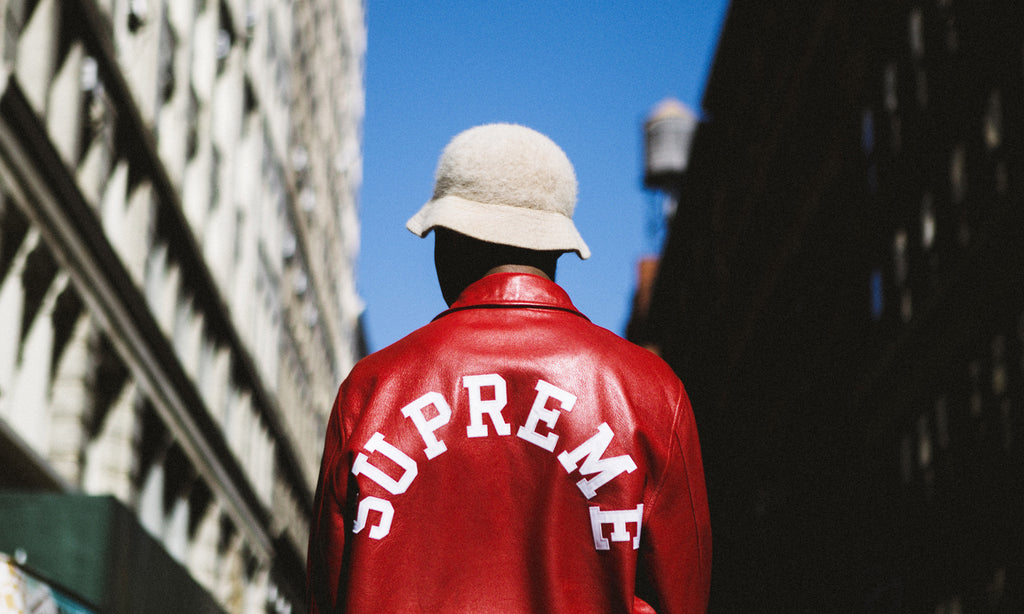 Streetwear Red Jacket Supreme