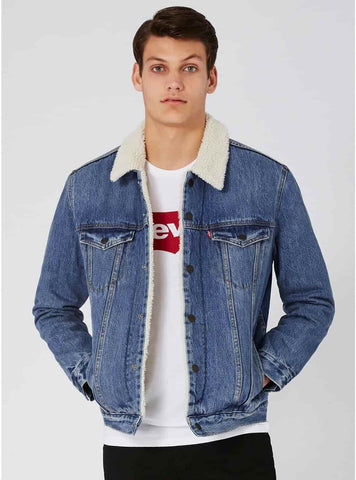 Jacket with Sherpa