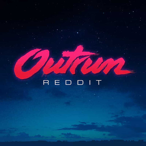 Outrun Font Synthwave