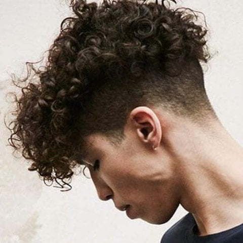 Curly Undercut Coolest Men's Haircut Trends 2019 for Streetwear Essentials