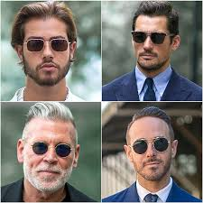 Long faces with sunglasses famous popular hollywood