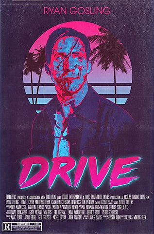 Drive Retrowave Poster