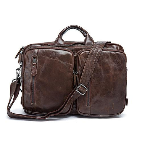 Leather Man bag streetwear