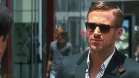 Ryan Gostling Sunglasses Suit Cool