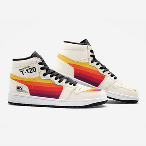 1988 VHS T-120 Retrowave Sneakers - New Retro Streetwear Newretro.Net