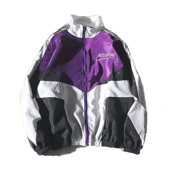 1986 Loose Zipper Coat - New Retro Streetwear Newretro.Net