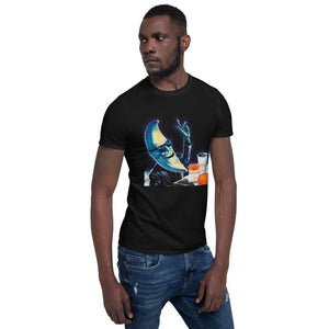 Mr. Moon Unisex T-Shirt - New Retro Streetwear Newretro.Net