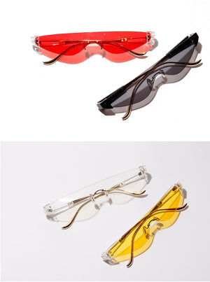 Unisex Triangle Retro Sunglasses - New Retro Streetwear Newretro.Net