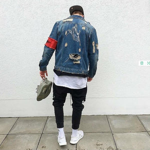 Rider Retrowave Jacket - New Retro Streetwear Newretro.Net