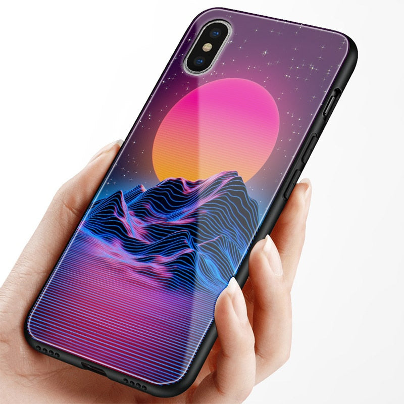 Synthwave Retro Phone Cases for iPhone - New Retro Streetwear Newretro.Net