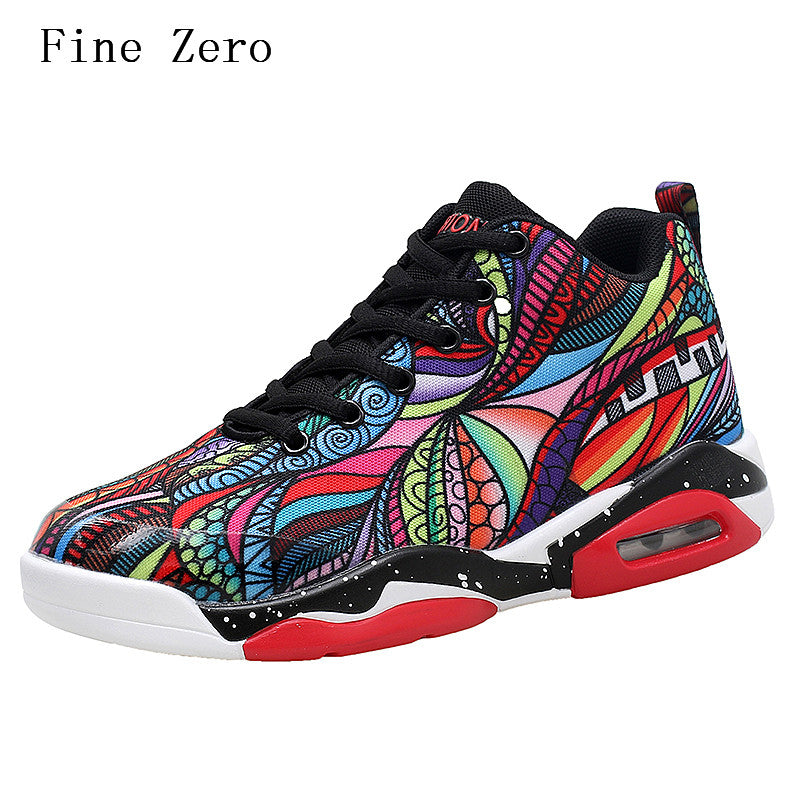 Fine Zero Men Comfortable Trainers Shoes - New Retro Streetwear Newretro.Net