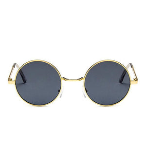 Fashion Vintage Round Sunglasses - New Retro Streetwear Newretro.Net
