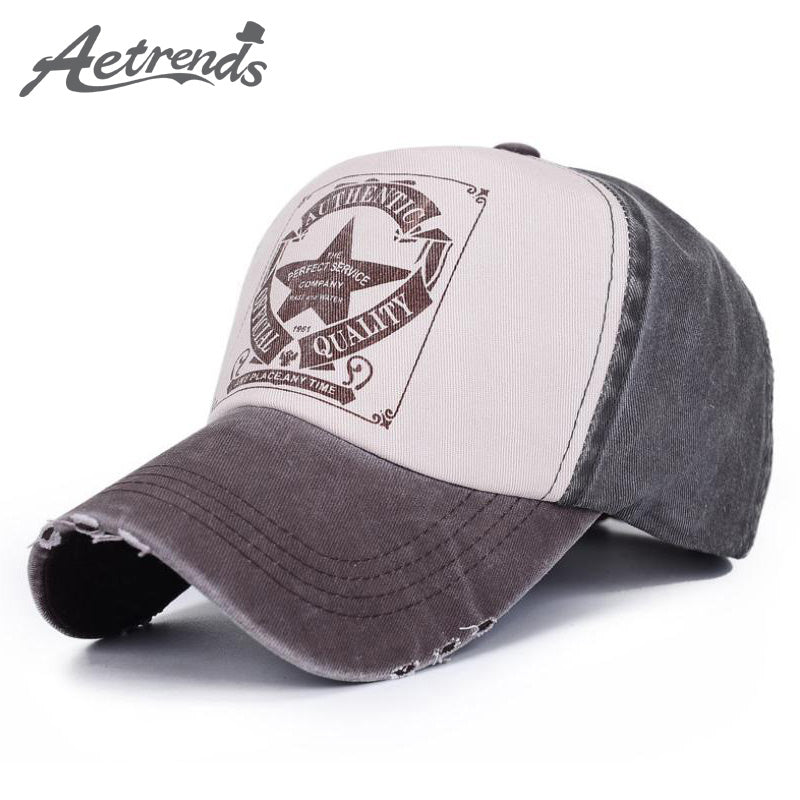 6 Colors Star Patchwork Baseball Cap - New Retro Streetwear Newretro.Net