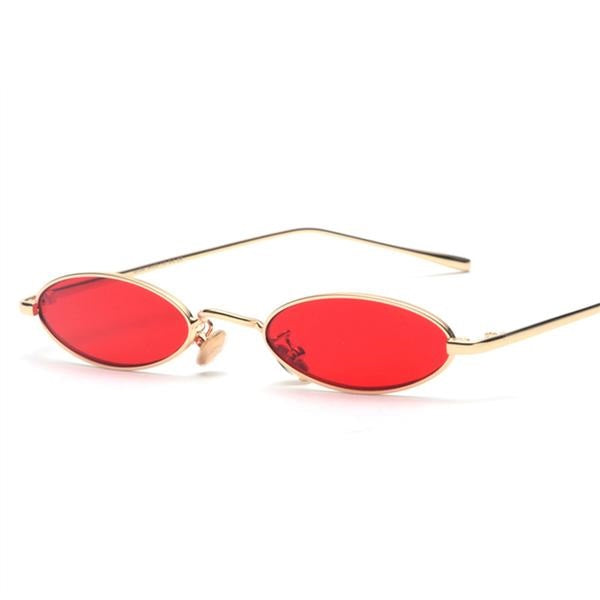 Small Oval Sunglasses - New Retro Streetwear Newretro.Net