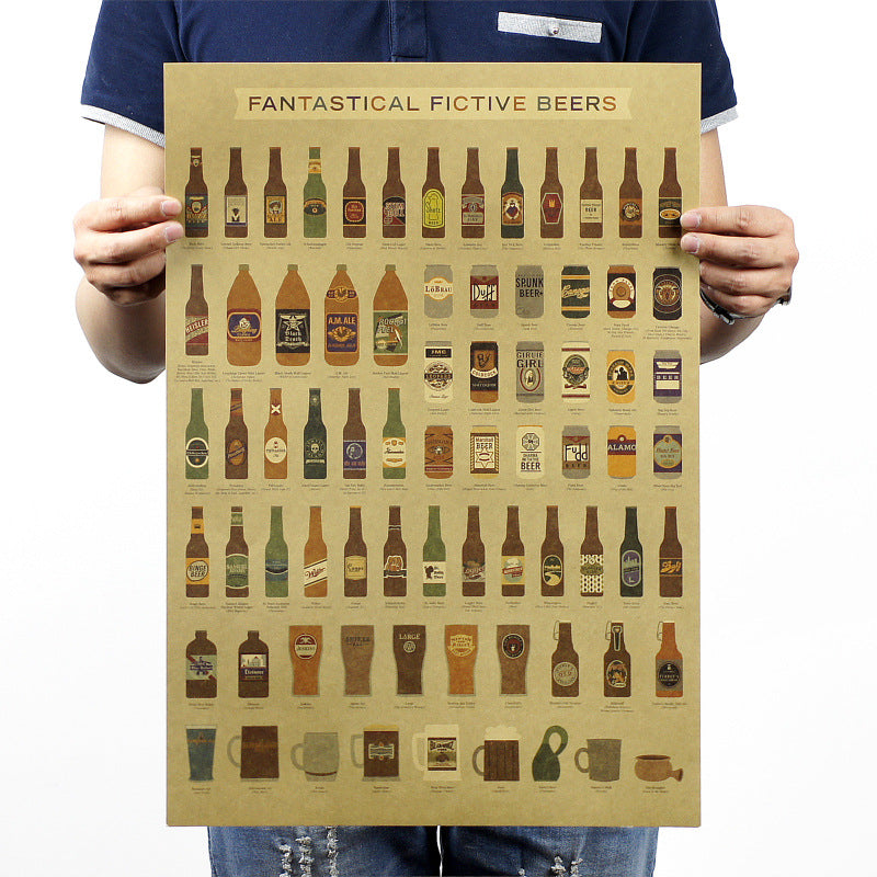 Beer Encyclopedia History Vintage - New Retro Streetwear Newretro.Net