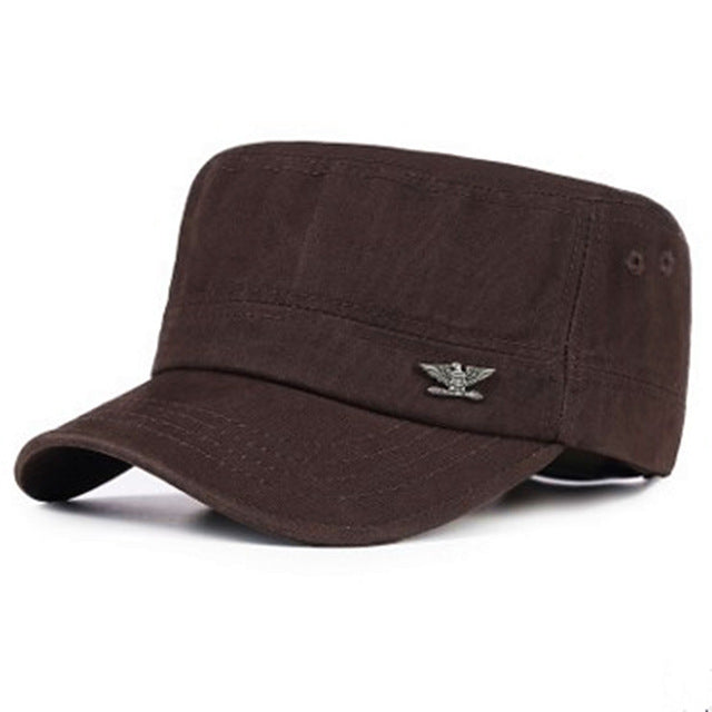 Men Cotton Military Hats - New Retro Streetwear Newretro.Net