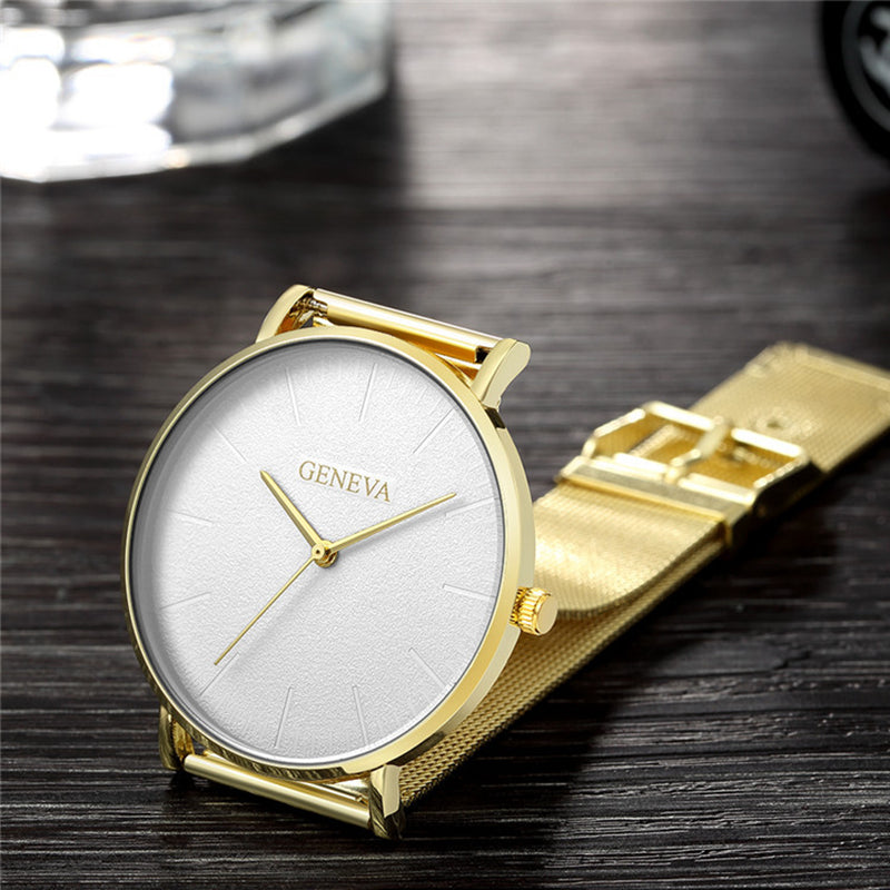Ultra Thin Newretro.Net Stainless Steel Watch - New Retro Streetwear Newretro.Net