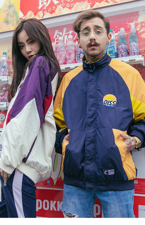 Diss Embroidery Jacket (Limited Edition) - New Retro Streetwear Newretro.Net