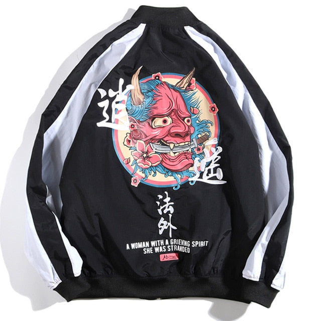 Retro Devil Jacket - New Retro Streetwear Newretro.Net