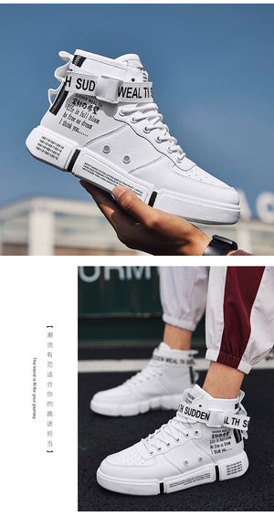 High Top Retro Sneakers - New Retro Streetwear Newretro.Net