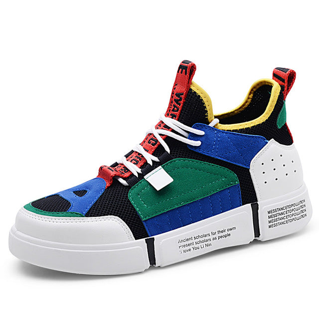 Colorful Casual Shoes - New Retro Streetwear Newretro.Net